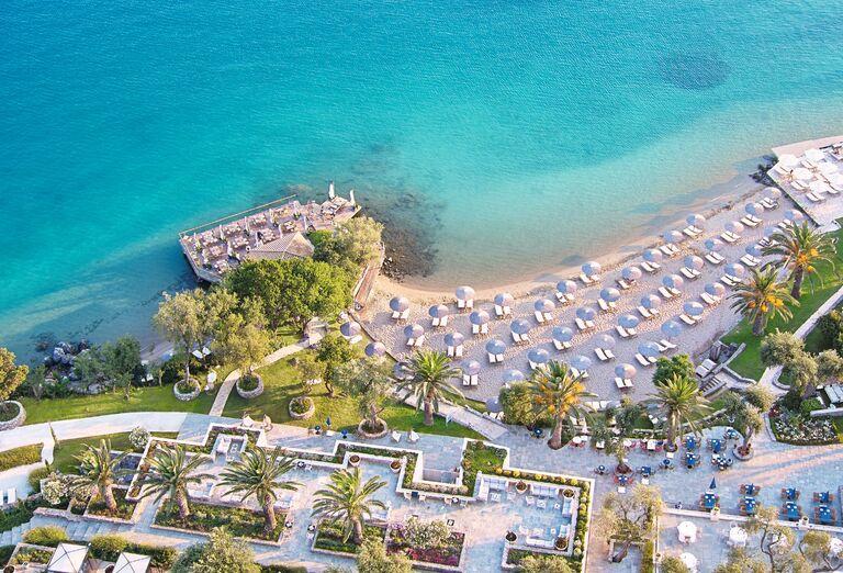 Pláž Hotel Grecotel Corfu Imperial *****