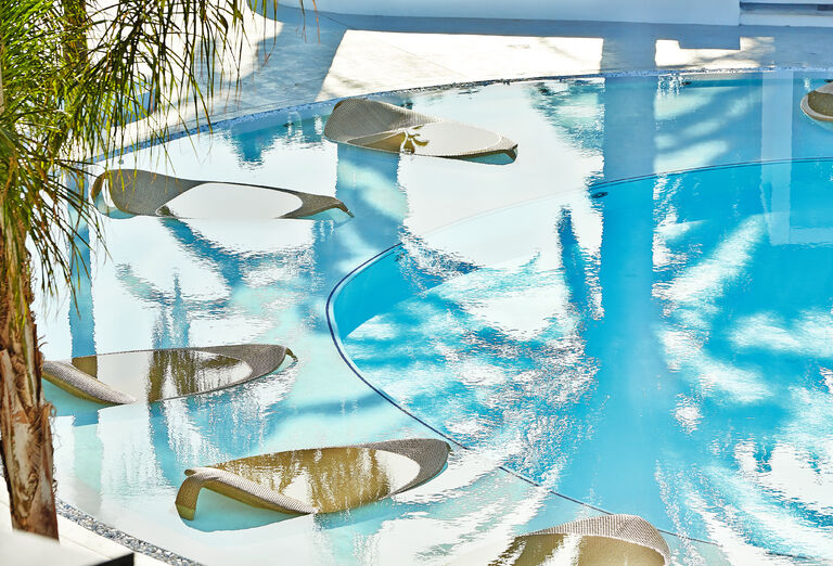 Vodný svet Hotel Caramel Grecotel Boutique Resort *****