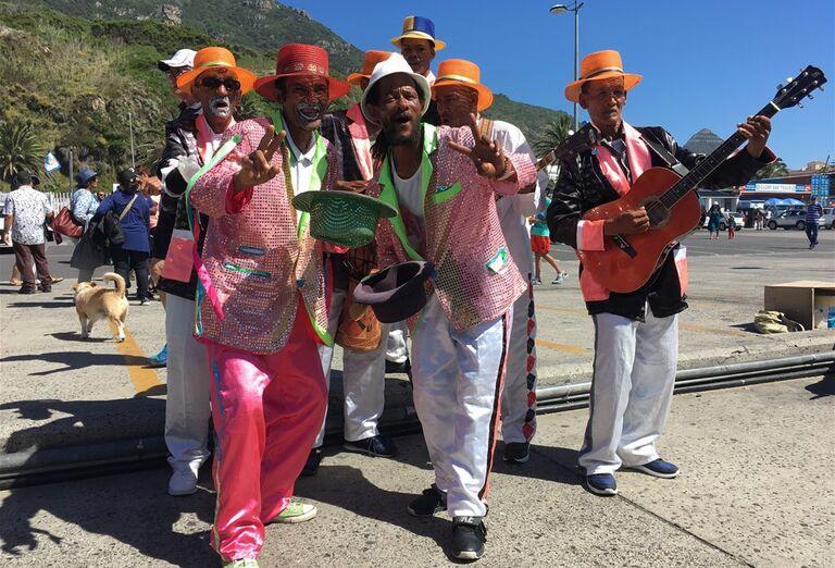 Kapské Mesto - muzikanti