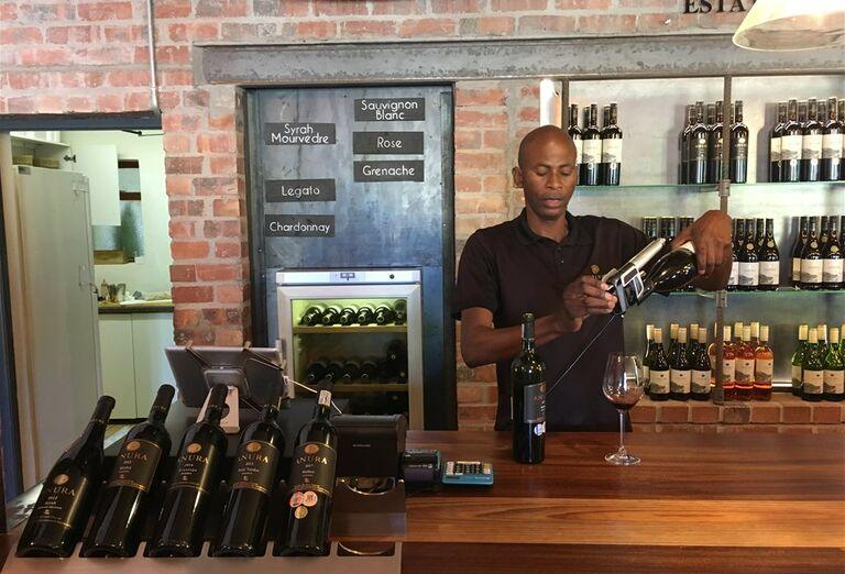 Kapské Mesto -  víno