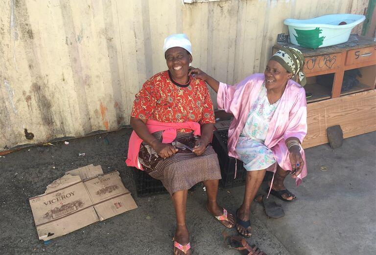 Kapské Mesto - obyvatelia mesta