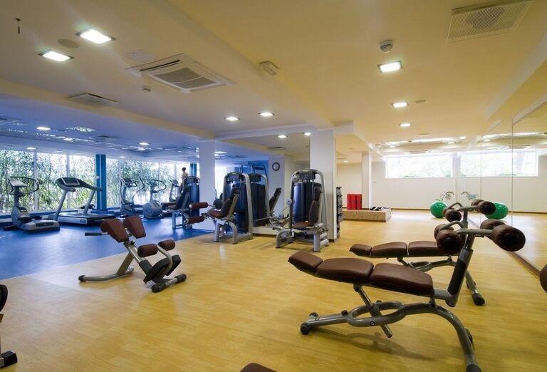 Fitnes v hoteli Horizont