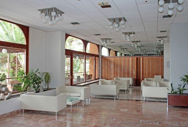 Interiér hotela Biokovka