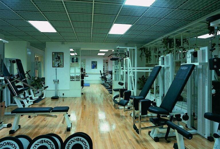 Fitnes v hoteli Biokovka