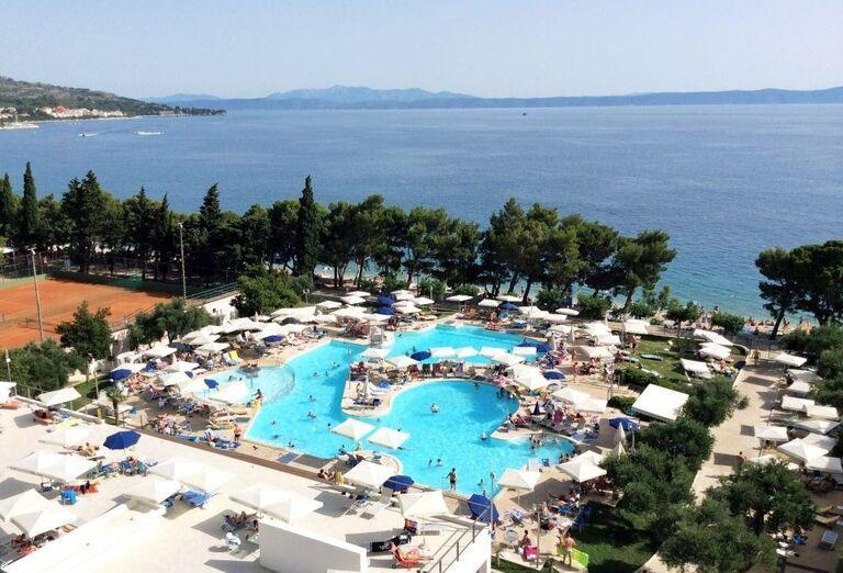 Bazén hotela Bluesun Neptun