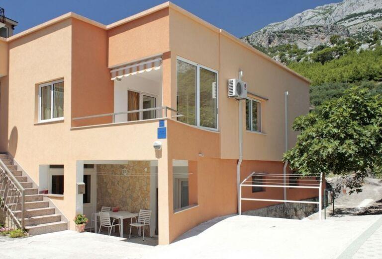 Pohľad na apartmány Dom Mario