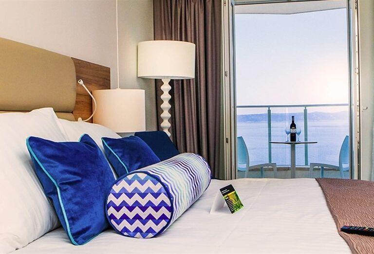 Izba s výhľadom na more v hoteli Sensimar Adriatic Beach Resort