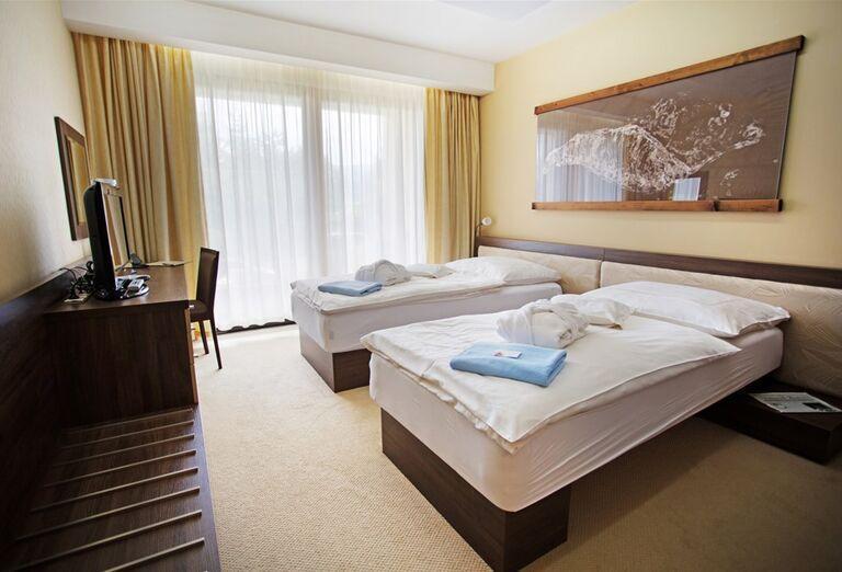 Izba v hoteli Wellness Hotel Diplomat