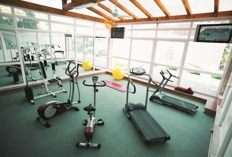 Fitnes v hoteli Dražica