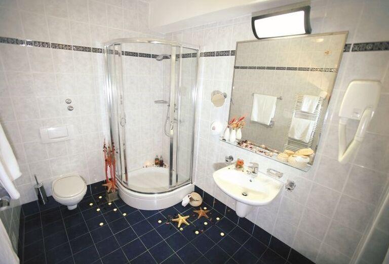 Kúpeľňa v hoteli Dražica