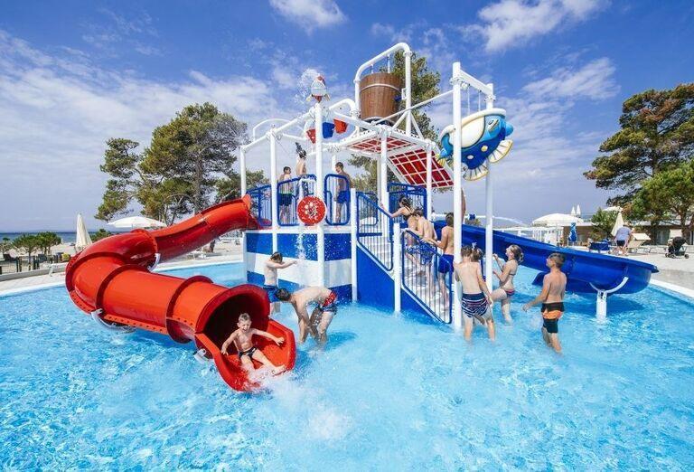 Vodný svet pri apartmánoch a štúdiách Zaton Holiday Resort 3