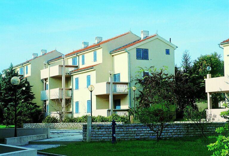 Apartmány Croatia so zeleňou