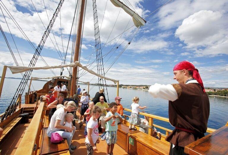 Výlet ľoďou s kapitánom pirátov