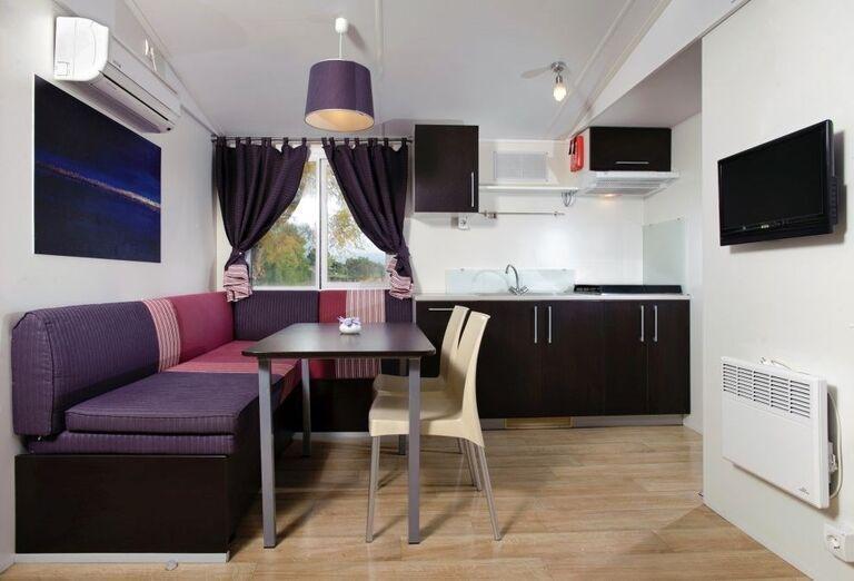 Interiér mobilného domčeku MH Solaris