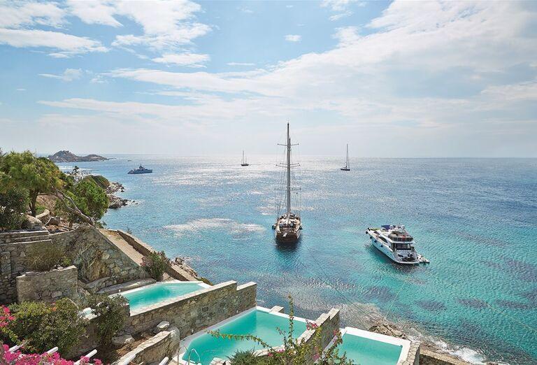 Ostatné Hotel Mykonos Blu Grecotel Exclusive Resort *****