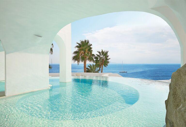 Vodný svet Hotel Mykonos Blu Grecotel Exclusive Resort *****