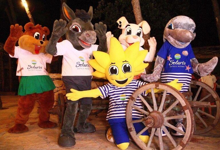 Animácie pre deti v hoteli Amadria Park Ivan