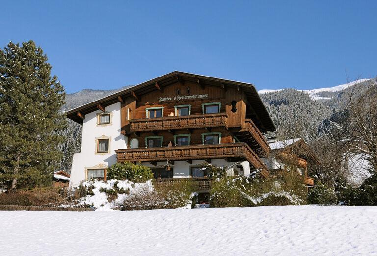 Hotel Landhaus Maridl v zime
