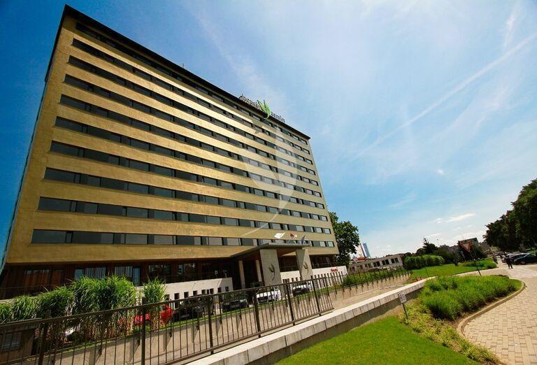 Pohľad na hotel Yasmin