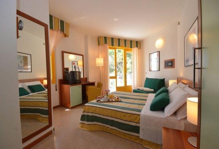 Komfortná izba v hoteli Luna