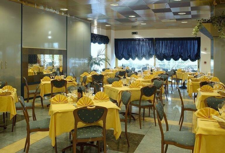 Reštaurácia v hoteli Luna