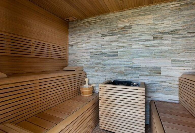Sauna v hoteli Colombo