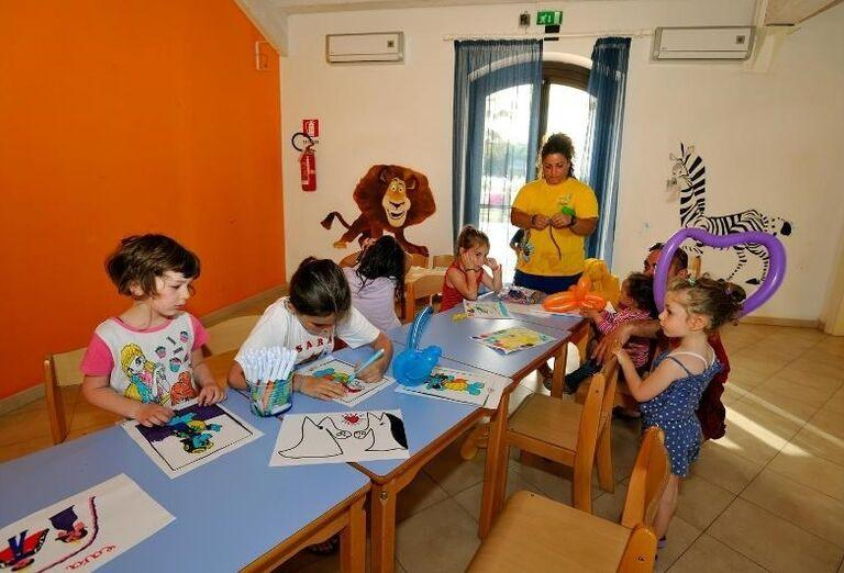 detské animácie v hoteli Sikania Resort and Spa