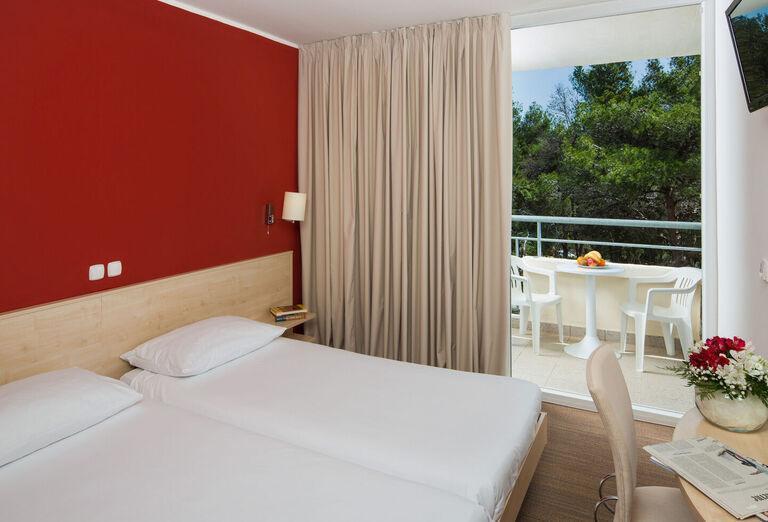 Izba s výhľadom na more v hoteli Allegro