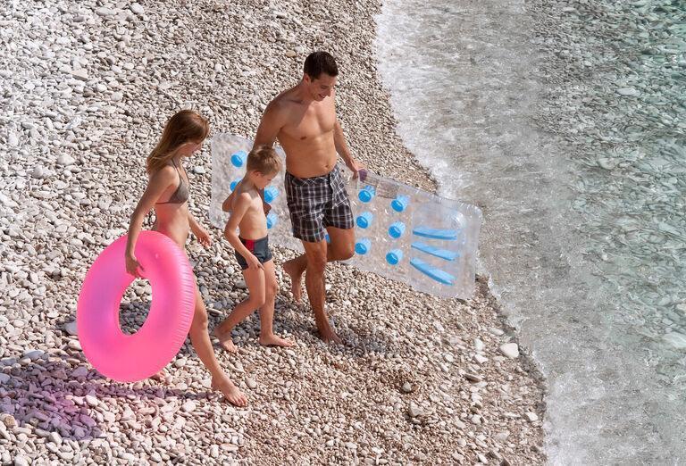 Allegro Sunny Hotel - rodina na pláži