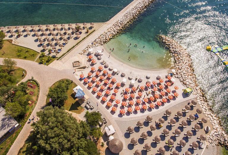 Pláž Hotel Valamar Collection Isabella Island Resort ****+