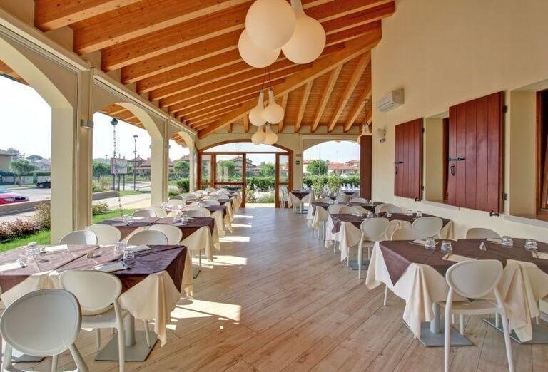 Reštaurácia v rezidencii Airone Bianco