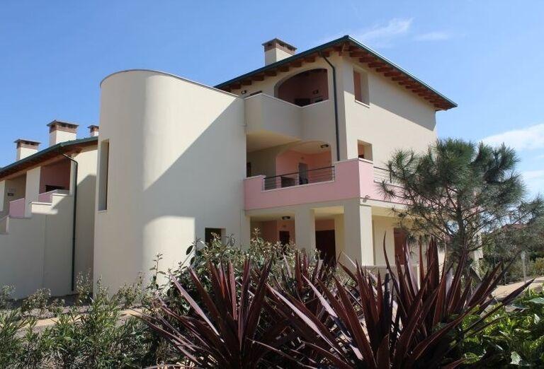 Pohľad na rezidenciu Airone Bianco