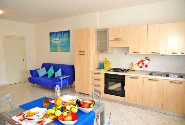 Priestranné ubytovanie v rezidencii Airone Bianco