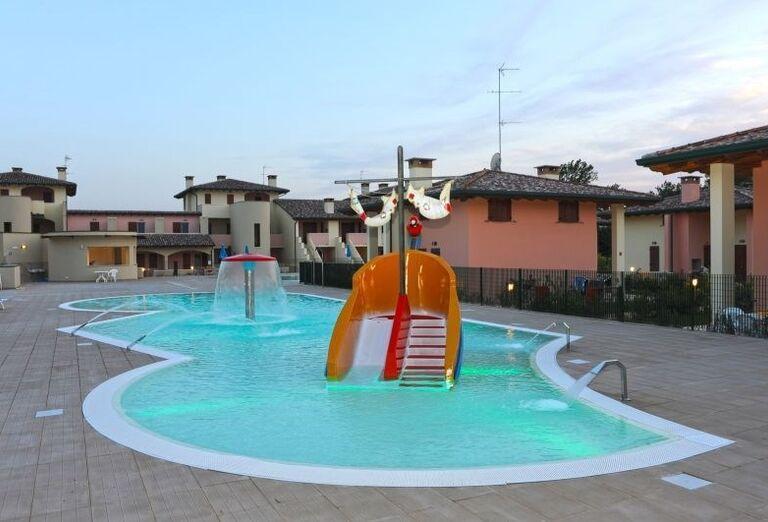 Detský bazén v rezidencii Airone Bianco
