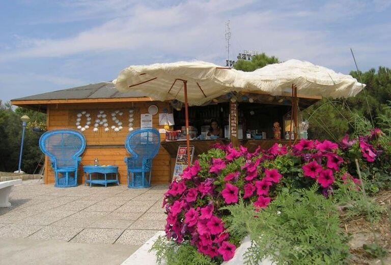Bar v rezidencii Airone Bianco