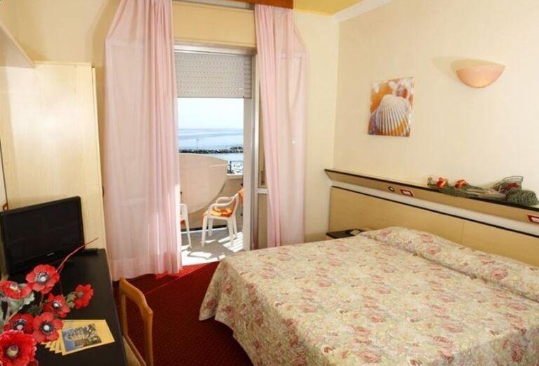 Izba s výhľadom na more v hoteli El Cid Campeador