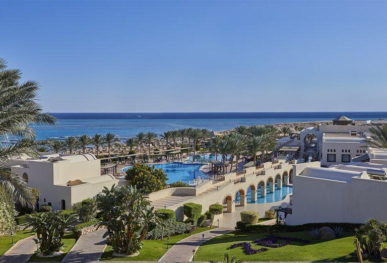 Pohľad na komlpex hotela Jaz Belvedere