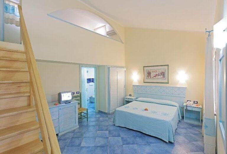 mezonetová izba v hoteli Li Cupulatti