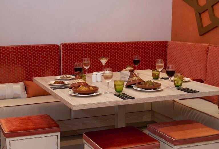 Stolovanie v marockej a la carte reštaurácii