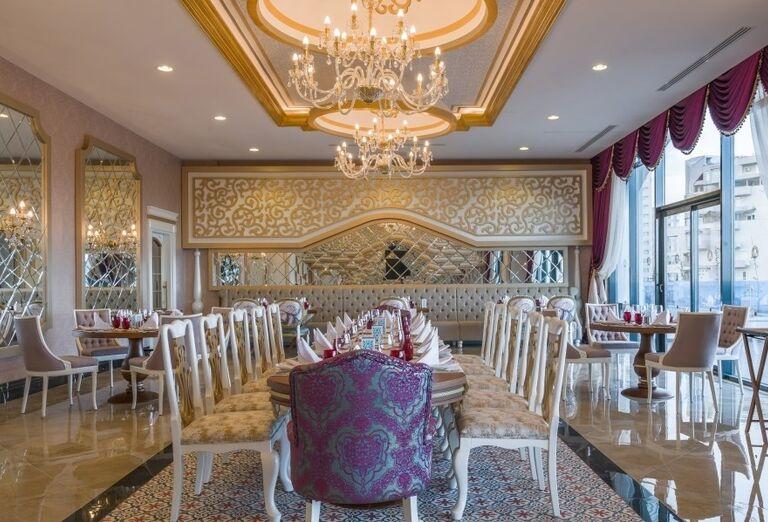 Slávnostná miestnosť v hoteli Adalya Elite Lara