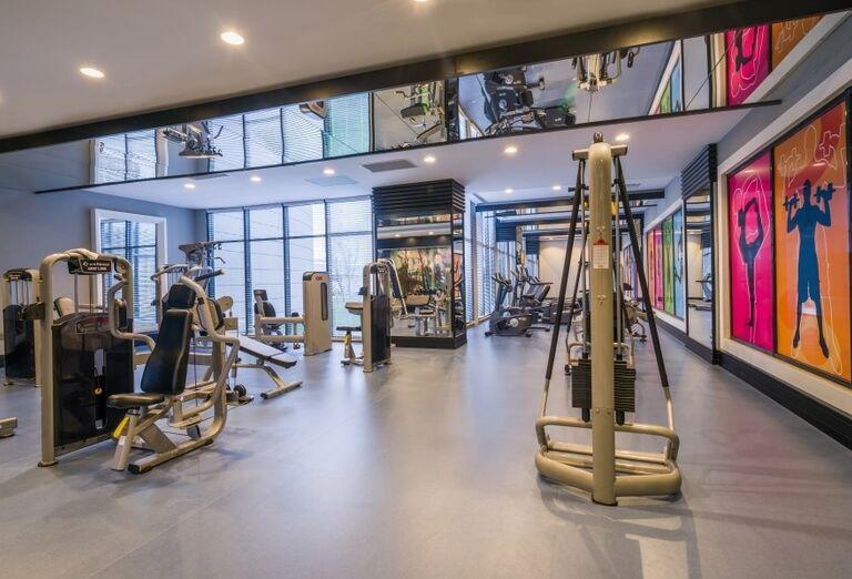Fitness centrum v hoteli Adalya Elite Lara
