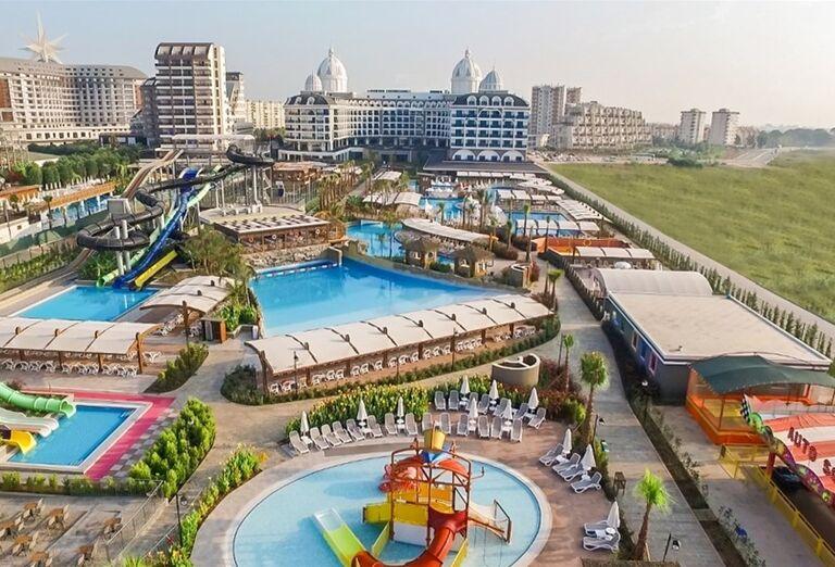 Vodný svet v hoteli Adalya Elite Lara