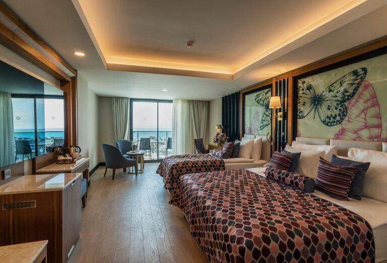 Priestranná izba v hoteliAdalya Elite Lara