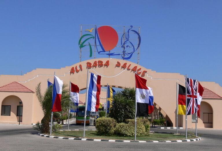 Ali Baba Palace - pohľad na hotel