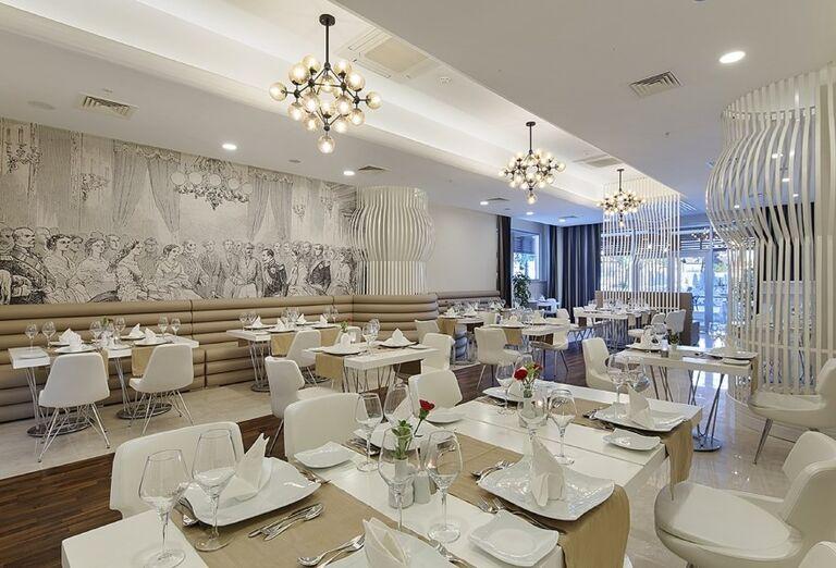 Reštaurácia, hotel Seashell Resort & Spa