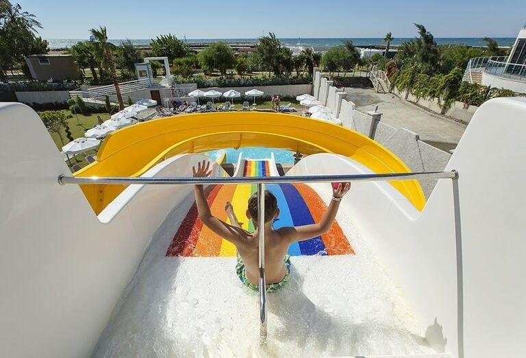 Tobogány, hotel Seashell Resort & Spa