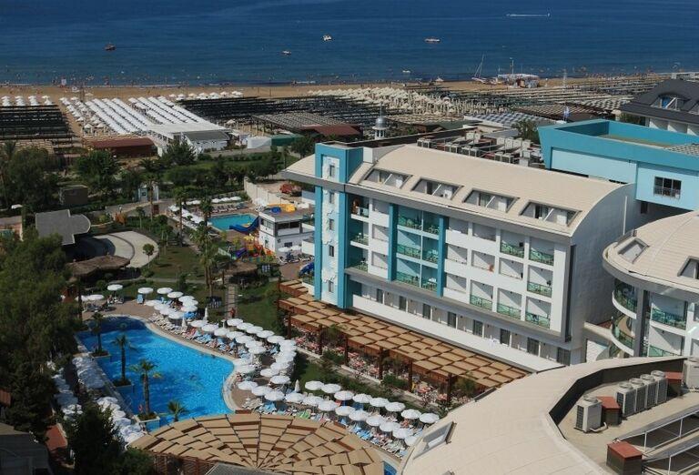 Areál, hotel Seashell Resort & Spa