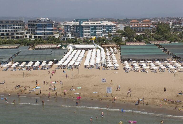 Pláž, hotel Seashell Resort & Spa