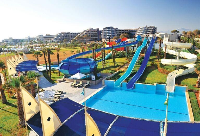 Hotel Susesi Luxury Resort, Belek, aquapark