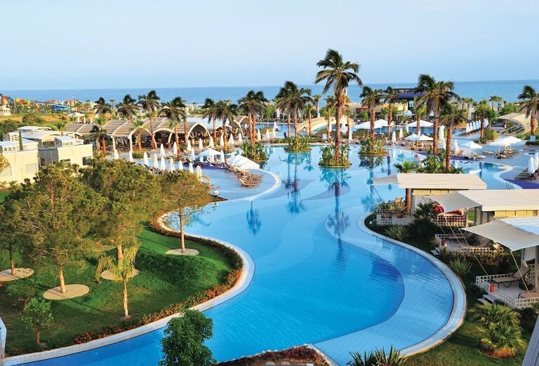 Hotel Susesi Luxury Resort, Belek, areál
